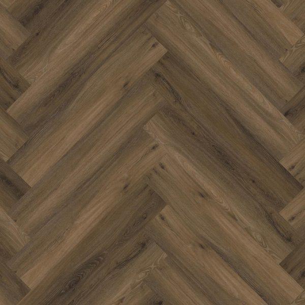 Spigato visgraat warm brown